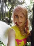 MLP Fluttershy Cosplay by Angiepureheart