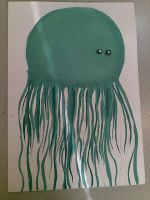 jellyfish-partly painted by spyrolizzy