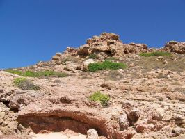 Hill and Rocks Stock01 by AEC101
