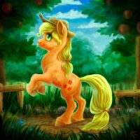 Applejack by gor1ck
