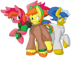 Request Fallout Equestria Digigex90 by Bluerainbow01