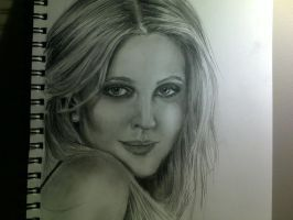 Drew Barrymore by stef-g