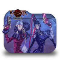 Bayonetta Bloody Fate Folder Icon by Minacsky-saya