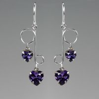 Purple Dangle- SOLD by YouniquelyChic