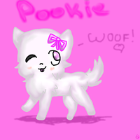 Pookie by dovepaw3000