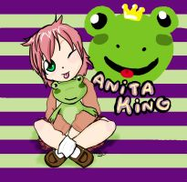 Anita King another art trade by Chibi-Kitty-Chan