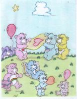 Care  Bear's  picnic by fredvegerano