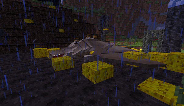Playing in Minecraft(Mods): Killed in fight by MrMixser