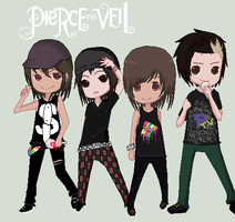 Pierce the Veil by Hoshi-Bases