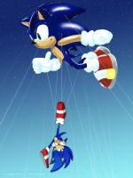 Sonic's Balloon by VioletChiko
