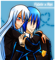 Code x Number: Rei x Fjo'rir by GazeRei