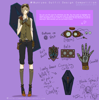Munryeo Costume Design by Lintastic