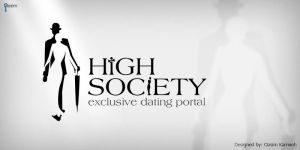 High Society Logo Concept 02 by pixelbudah