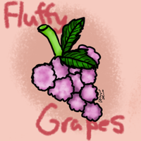 Fluffy Grapes by conwolf