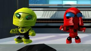 LBP Sektor and Cyrax by Canovoy