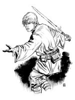 Luke Skywalker by deankotz