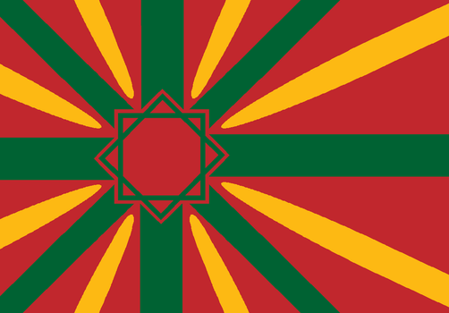 Flag of the Imperial Moroccan Navy by EricVonSchweetz