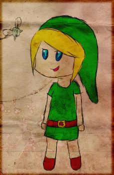 Chibi Link :3 by Roy2059