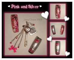 Pink and Silver by Jessi9999