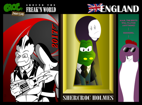 [Croc's Swamp Gang] England, Part II by CK-was-HERE