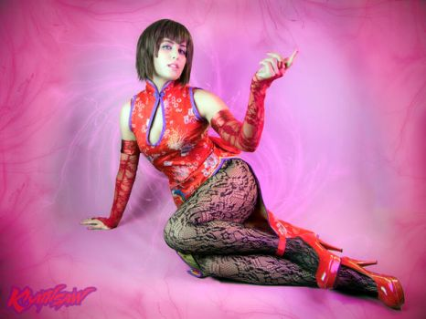 Tekken Anna Williams Cosplay : Come Over Here by Khainsaw