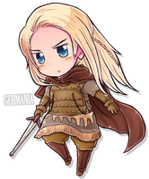 Chibi Series - Germania by say0ran
