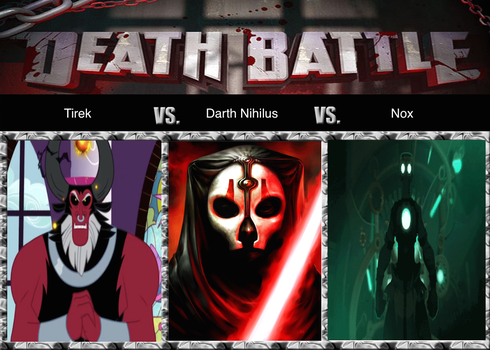 Death Battle: The Energy Eaters by Komodo-Lancer