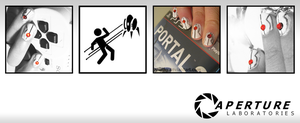 Portal Turret Nails by nhathy