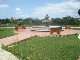 Mexican Fountain by Raider-Stock