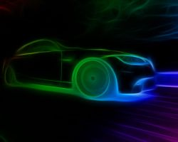 Neon Bmw by idioti123