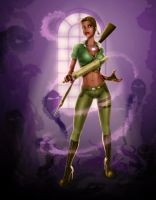 Tiana: Voodoo Slayer by steevinlove