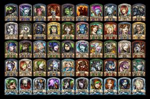 2015 BlizzCon Badges by Noxychu