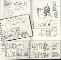 Sketchbook or Daybook 021 by hesir