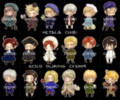 Hetalia Chibi by blackeyebags