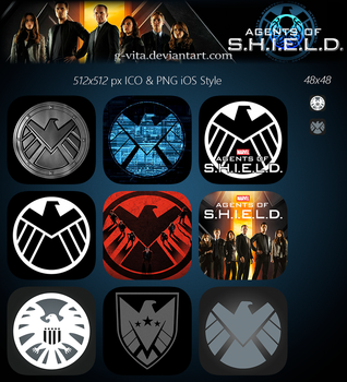 Marvel's Agents Of SHIELD TV Series Icon by g-Vita