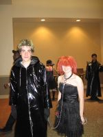 Demyx and Reno xD by Sappheirous