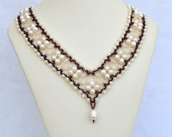 Wedding set N1404 - Necklace by Fleur-de-Irk