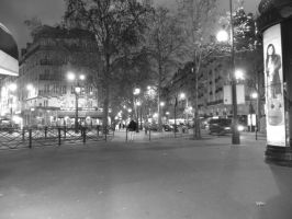 le soir a Paris  2  les lumieres by angeloup