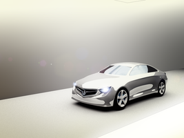 Benz 2012 3d WIP by AS001