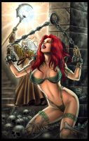 Red Sonja  by: Lui Antonio by jerix