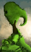 Slug tree by PhotoshopJoe