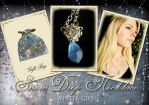 Snow Drop Necklace by Lillyxandra