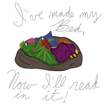 Dragon Daybed by Pennywithaney