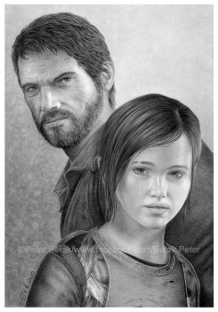 The last of us drawing by petbet1