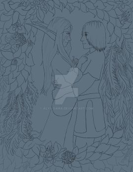 WIP - In the Ivy by alyx-sama