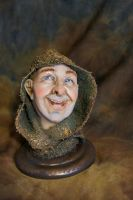 Brother Bartholomew bust 3 by MarylinFill