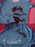ao no exorcist t-shirt by skyna