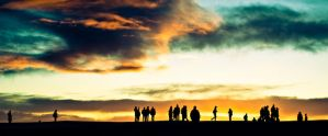 people under the great sky by thehomeboy