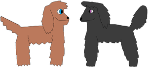 Dog-Earth Timmy and Tootie by jacobyel