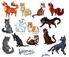 Warrior Cats by FENNEKlNS